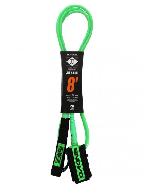 DaKine John John Florence Kainui surfboard leash 8ft - Black/Green