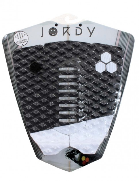 Channel Islands Jordy Smith Arch surfboard tail pad - Black/White