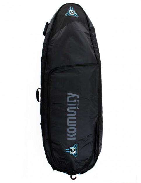 Komunity Project All Rounder Triple Lightweight 10mm Surfboard Bag 6ft 0 - Black