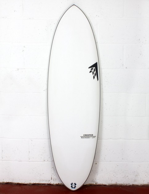 Firewire LFT Creeper surfboard 5ft 8 FCS II - White