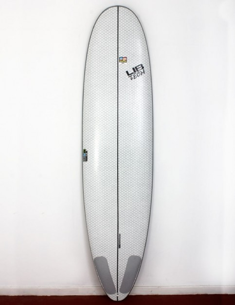 Lib Tech Pickup Stick surfboard 7ft 6 - White