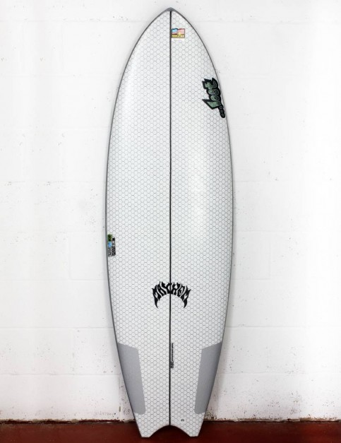 Lib Tech X Lost Puddle Fish surfboard 6ft 2 - White