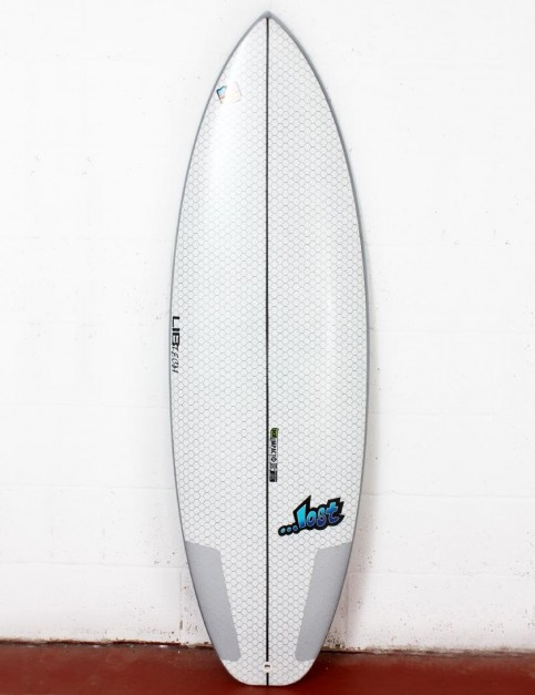 Lib Tech X Lost Puddle Jumper HP surfboard 5ft 8 - White