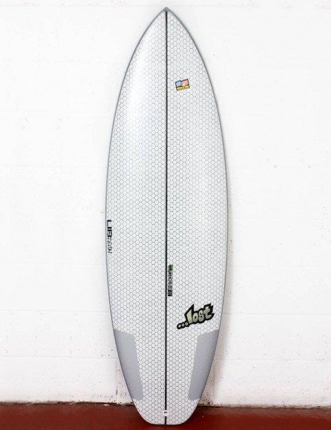 Lib Tech X Lost Puddle Jumper HP surfboard 6ft 0 - White