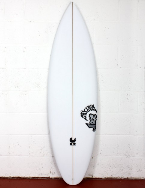 Lost Baby Buggy R-4C surfboard 6ft 1 FCS II - White