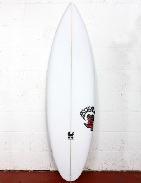 Lost Baby Buggy Round surfboard 6ft 2 Futures - White
