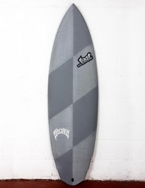 Lost Black Dart V3 Rocket surfboard 6ft 1 FCS II - Grey