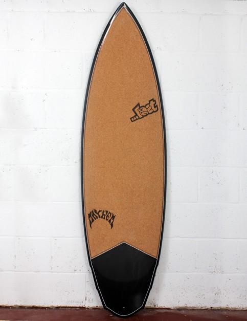 Lost V3 Rocket Surfboard C3 Carbon Cork 6ft 2 FCS II - Grey Detail