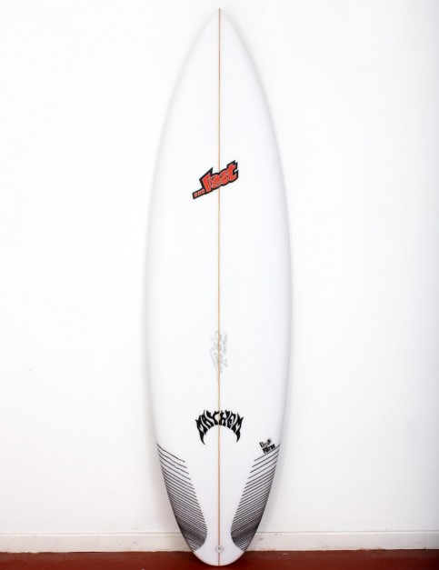 Lost El Patron Round Tail surfboard 6ft 5 FCS II - White