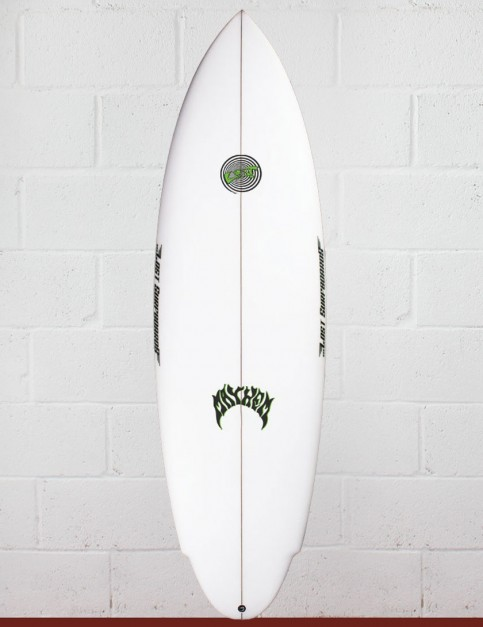 Lost Evil Twin surfboard 5ft 11 Futures - White
