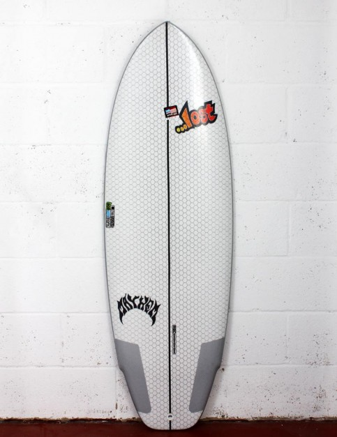 Lib Tech X Lost Puddle Jumper surfboard 5ft 3 - White