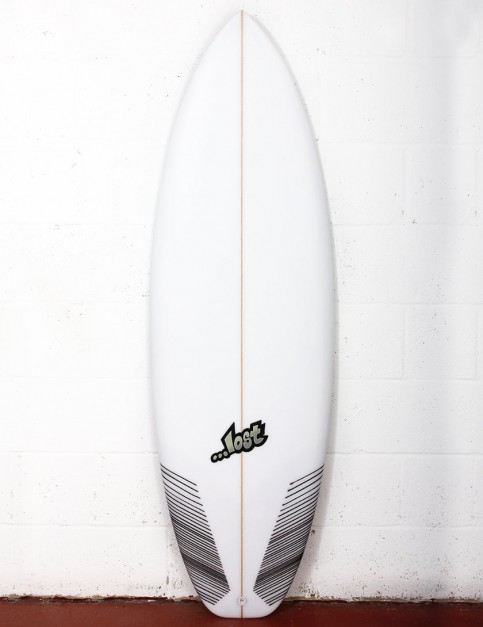 Lost Puddle Jumper HP surfboard 5ft 10 FCS II - White