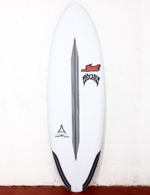 Lost Puddle Jumper RP surfboard Carbon Wrap 6ft 0 FCS II - White