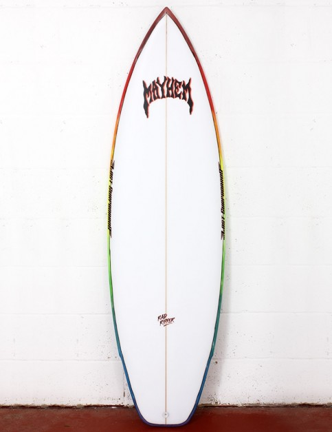 Lost Rad Ripper surfboard 6ft 0 FCS II - White