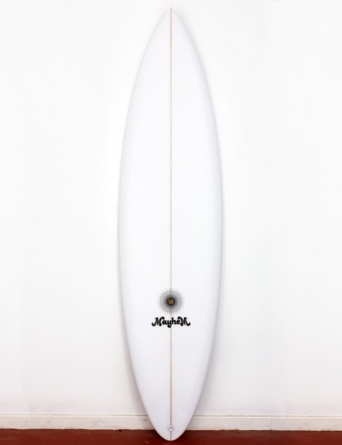 Lost Retro Gun surfboard 6ft 10 FCS II - White