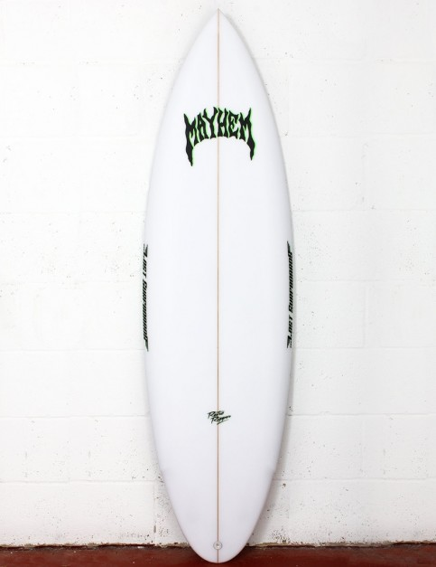 Lost Retro Ripper surfboard 6ft 0 FCS II - White