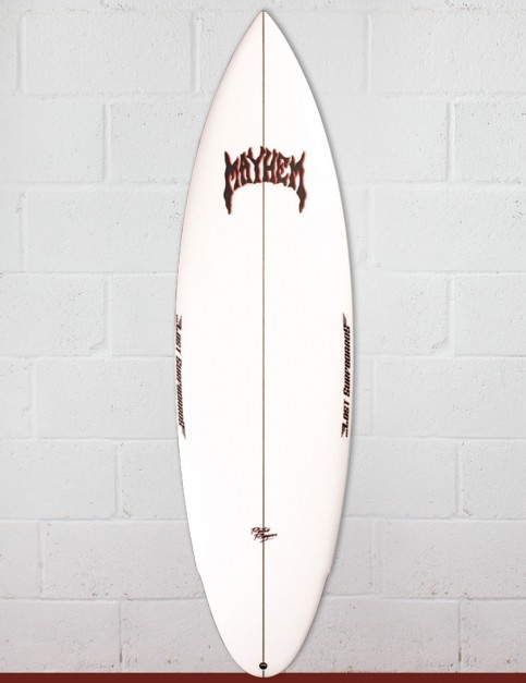 Lost Retro Ripper surfboard 5ft 9 FCS II - White