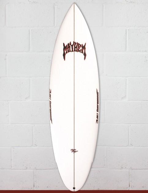 Lost Retro Ripper surfboard 6ft 2 FCS II - White