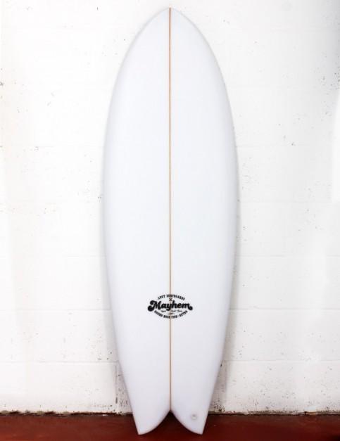 Lost RNF Retro surfboard 5ft 10 Futures - White