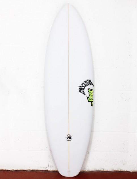 Lost Short Round Surfboard 5ft 10 FCS II - White