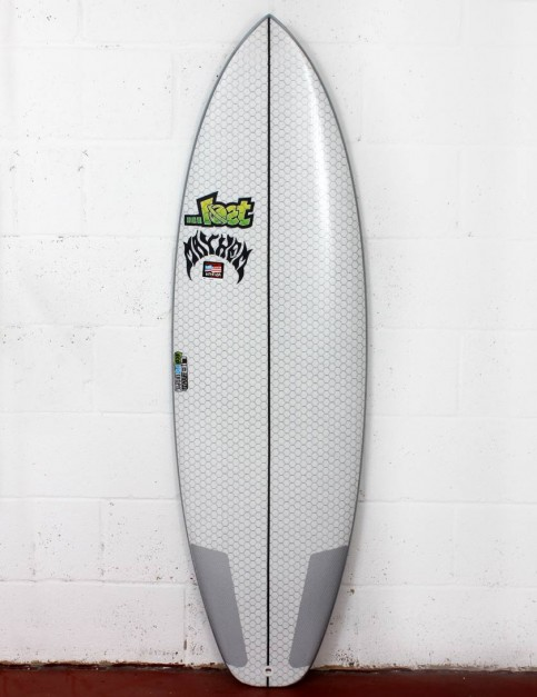 Lib Tech X Lost Short Round surfboard 5ft 6 - White