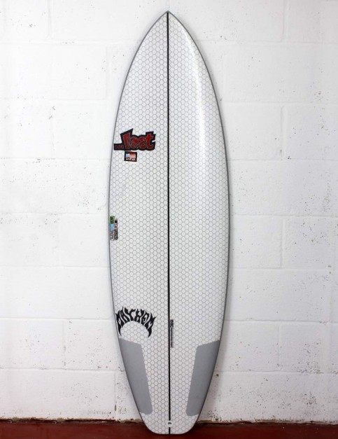 Lib Tech X Lost Short Round surfboard 5ft 8 - White
