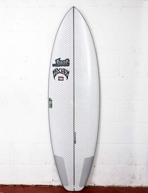 Lib Tech X Lost Short Round surfboard 6ft 0 - White