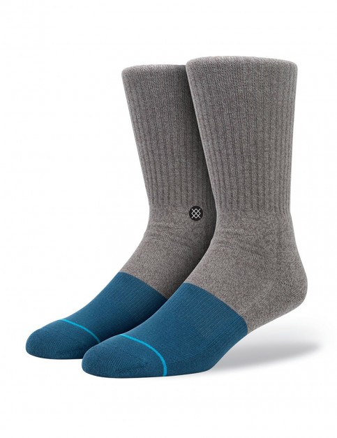 Stance Transition socks - Grey/Blue