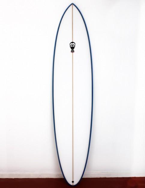Mark Phipps One Bad Egg surfboard 7ft 10 FCS II - Blue Spray Rail