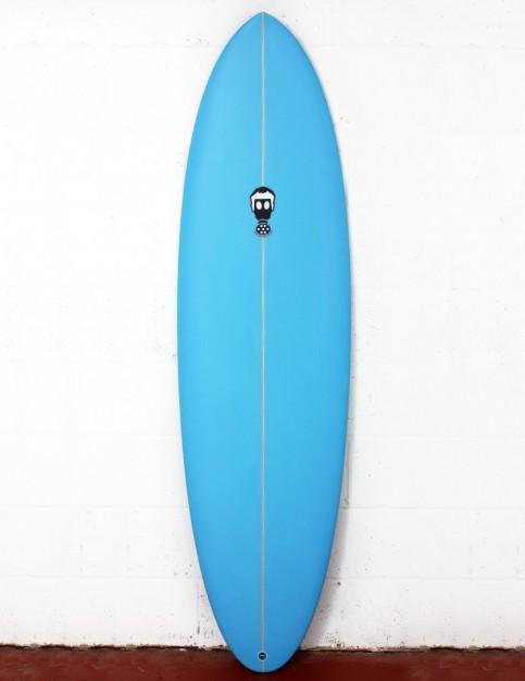 Mark Phipps One Bad Egg surfboard 6ft 4 FCS II - Blue Spray