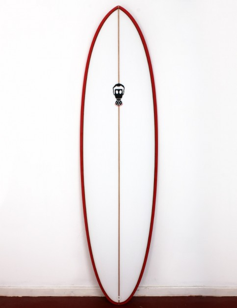Mark Phipps One Bad Egg surfboard 6ft 6 FCS II - Red Rail