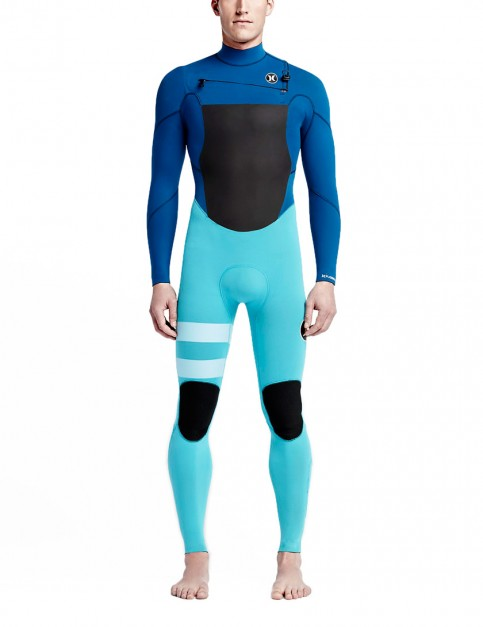 Hurley Fusion Chest Zip 3/2mm Wetsuit 2016 - Beta Blue