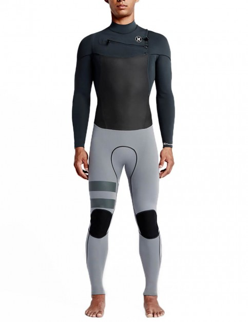 Hurley Phantom Chest Zip 3/3mm Wetsuit 2016 - Anthracite/Cool Grey