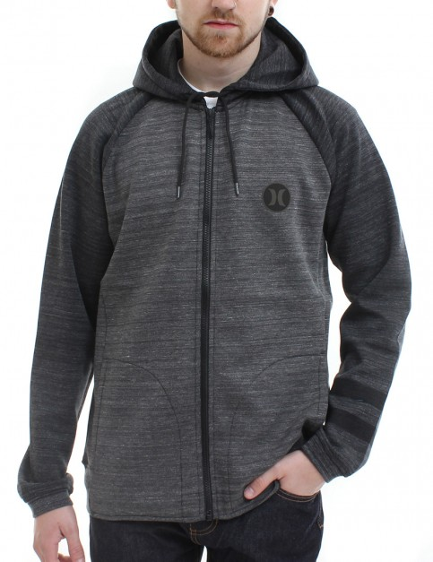 Hurley Phantom Apex zip hoody - Charcoal Heather