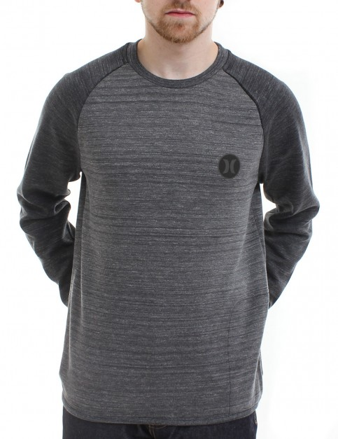 Hurley Phantom Arena crew neck sweatshirt - Charcoal Heather