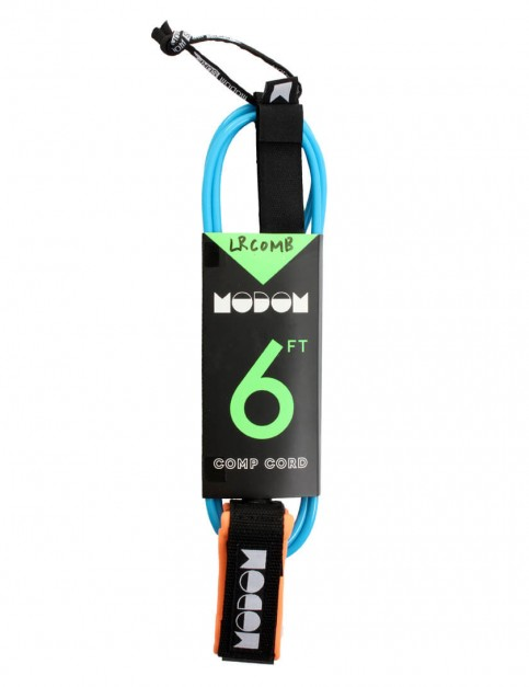 MODOM Comp Cord Surfboard Leash 6ft - Blue