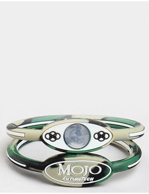 Mojo 6 inch Single Holographic wristband - Camo