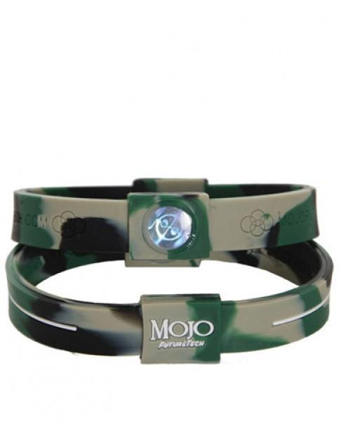 Mojo Max 8 inch Double Holographic wristband - Camo