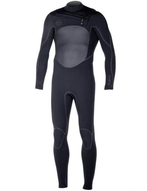 Xcel Drylock Chest Zip 5/4mm Wetsuit 2017 - Black