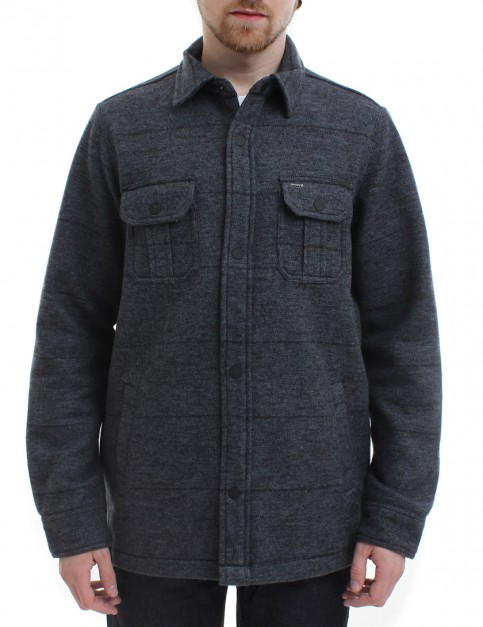 Hurley Brick Button Up fleece lined shirt - Black