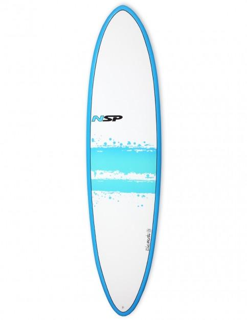NSP Elements Funboard surfboard 7ft 2 - Blue