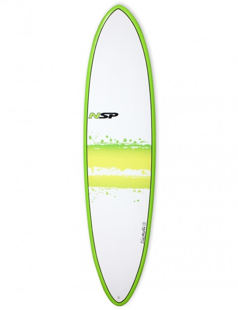 NSP Elements Funboard surfboard 7ft 6 - Green