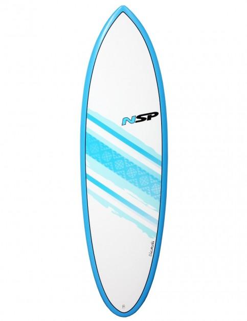 NSP Elements Hybrid surfboard 6ft 2 - Blue