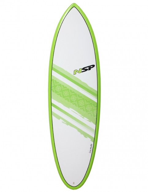 NSP Elements Hybrid surfboard 6ft 2 - Green