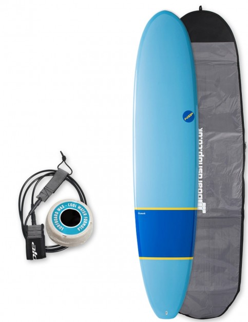 NSP Elements Longboard surfboard package 9ft 0 - Navy