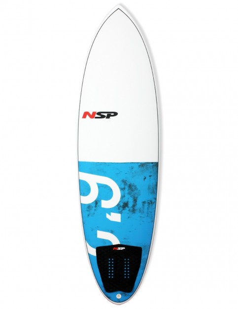 NSP Hybrid surfboard 6ft 2 - Blue