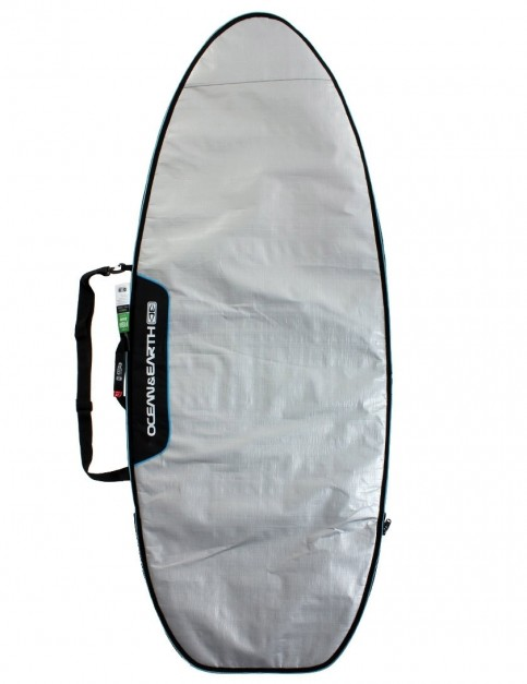Ocean & Earth Barry Super Wide Fish Surfboard bag 5mm 6ft 8 - Silver