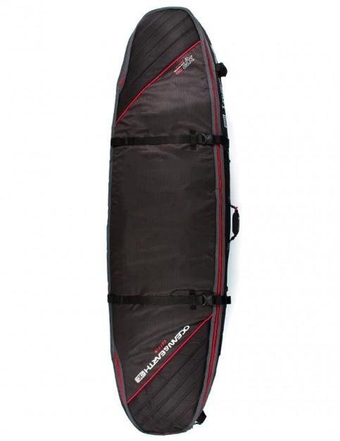 Ocean & Earth Triple Coffin Shortboard surfboard bag 10mm 7ft 0 - Black
