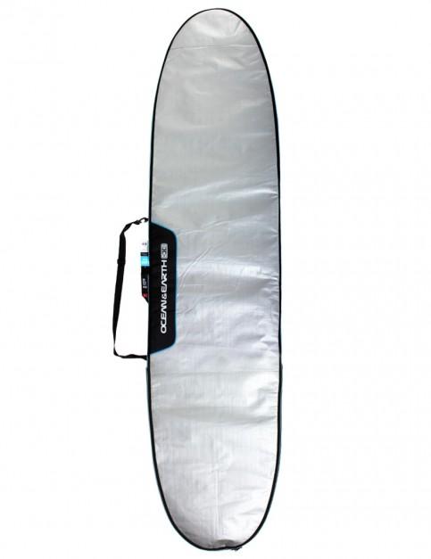 Ocean & Earth Barry Basic Longboard Surfboard bag 5mm 8ft 6 - Silver
