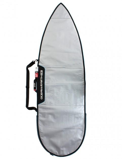 Ocean & Earth Barry Basic Shortboard Surfboard bag 5mm 6ft - Silver